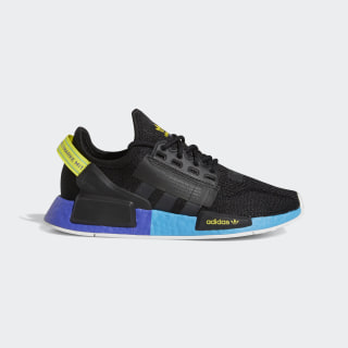 NMD_R1 V2 Shoes Core Black / Carbon / Shock Yellow FX4428
