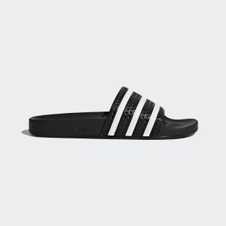 Pantofle Adilette Core Black / White / Core Black 280647