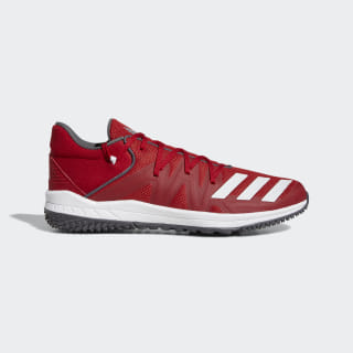 Speed Turf Shoes Power Red / Cloud White / Grey G27680