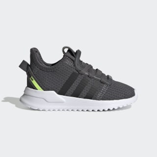 U_Path Run Shoes Grey / Core Black / Hi-Res Yellow EE7448