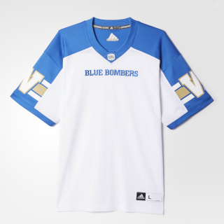 Blue Bombers Away Jersey White / Collegiate Royal BA0641