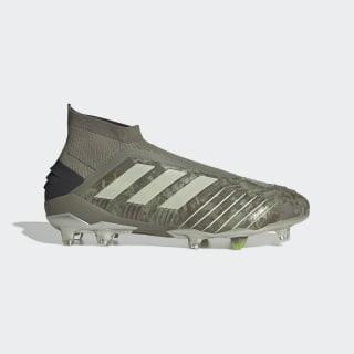 Zapatos de Fútbol Predator 19+ Terreno Firme Legacy Green / Sand / Solar Yellow EF8204