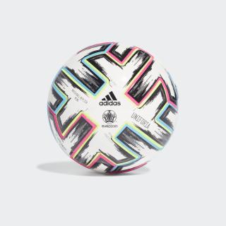 Футбольный мяч Uniforia Mini white / black / signal green / bright cyan FH7342