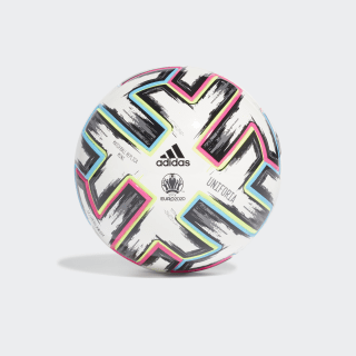 Minibola Uniforia White / Black / Signal Green / Bright Cyan FH7342
