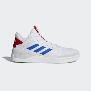 BBall80s Shoes Cloud White / Blue / Scarlet B44835