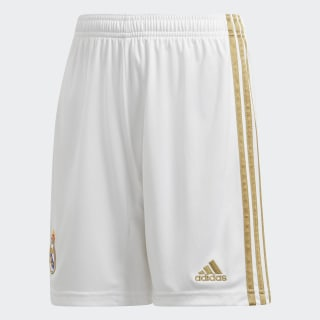 Shorts Uniforme Titular Real Madrid White DX8840