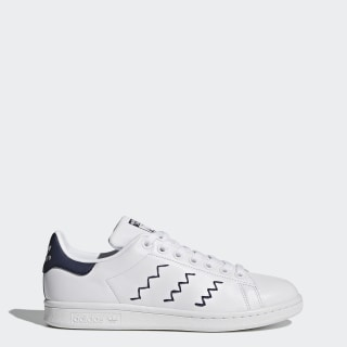Tenis Stan Smith FTWR WHITE/FTWR WHITE/TRACE BLUE F17 BZ0402