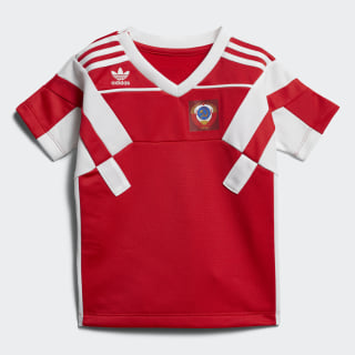 Playera Football SCARLET/WHITE CD8036