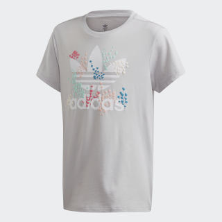 Camiseta Light Solid Grey / White EJ6330