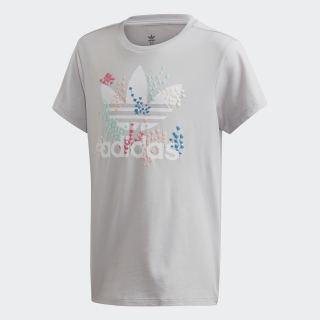 T-shirt Lgh Solid Grey / White EJ6330