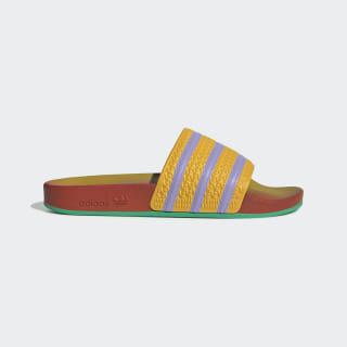 Adilette Slides Yellow / Light Purple / Green FV2719