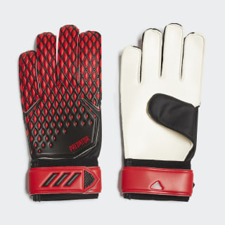 Вратарские перчатки Predator 20 Training Black / Active Red FH7295