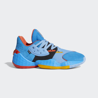 Harden Vol. 4 Su Casa Shoes Bright Blue / Light Blue / Team Colleg Gold FW7498