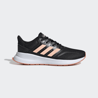 Obuv Runfalcon Core Black / Glow Pink / Semi Coral EE6932