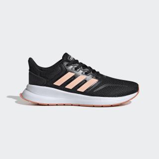 Tênis Runfalcon Core Black / Glow Pink / Semi Coral EE6932