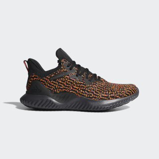 Alphabounce Beyond Shoes core black / carbon / shock pink AQ0557