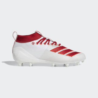 Adizero 8.0 Cleats Cloud White / Power Red / Active Red D97028