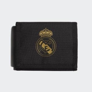 Real Madrid Geldbeutel Black / Carbon / Dark Football Gold DY7719