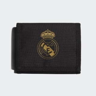 Real Madrid Wallet Black / Carbon / Dark Football Gold DY7719