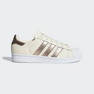 Tenis Superstar Off White / Copper Met. / Ftwr White CG6449