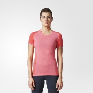 Playera Primeknit Wool EASY CORAL/BLACK AZ2872