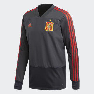 Maglia Training Spain Dgh Solid Grey / Night Grey / Red CE8821