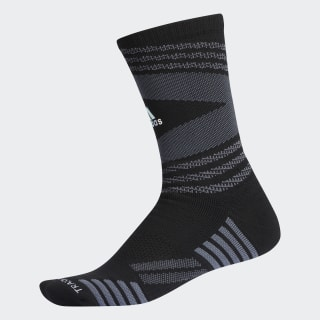 Emoji Speed Mesh Team Crew Socks Black CK2308