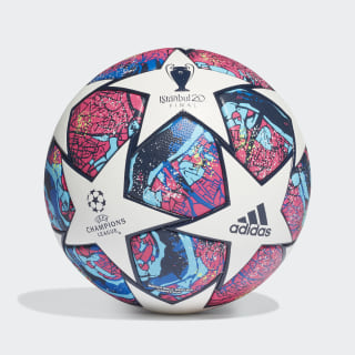 Bola UCL Finale Istanbul Competition White / Pantone / Glory Blue / Dark Blue FH7341