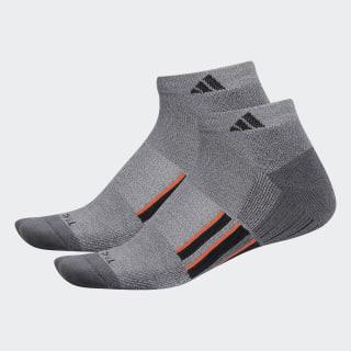 Climalite X 2.0 Low-Cut Socks 2 Pairs Medium Grey CL5693
