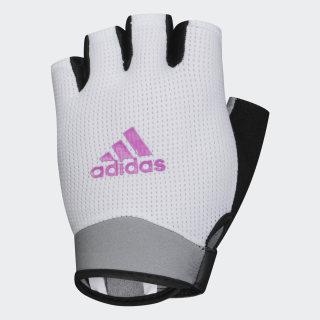 Перчатки для фитнеса White / Real Magenta CL5113
