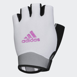 Перчатки для фитнеса, размер M White / Real Magenta CL5113