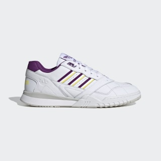 Zapatillas A.R. Trainer Cloud White / Glory Purple / Spring Yellow EF5946