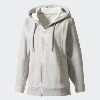 Essentials Hoodie Medium Grey Heather BQ8555