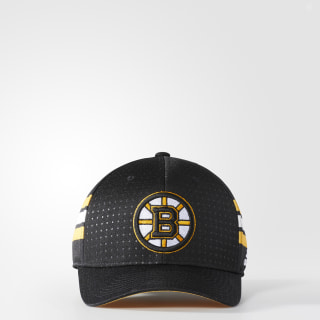 Bruins Structured Flex Draft Hat Black BZ8717