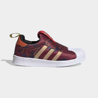 Superstar 360 Shoes Collegiate Burgundy / Gold Metallic / Cloud White FV7759