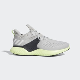 Alphabounce Beyond Shoes Grey Two / Cloud White / Hi-Res Yellow BD7096