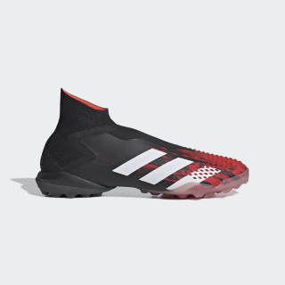 Calzado de Fútbol Predator Mutator 20+ Pasto Sintético Core Black / Cloud White / Active Red EF1573