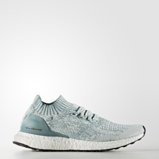 Кроссовки Ultra Boost Uncaged crystal white / vapour steel / vapour green BB3905