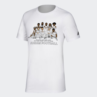Caricature Tee White / Branded-Add-M10 GL7149