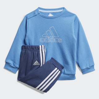 Must Haves Jogger Set Lucky Blue / White FM6400