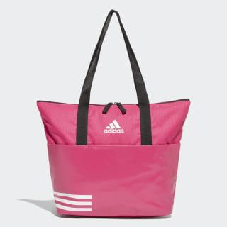 3-Stripes Training Tote Bag Real Magenta / Real Magenta / White DW9027