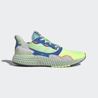 Кроссовки ZX 4000 4D hi-res yellow / linen green / easy mint EF9623