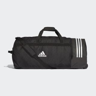 3-Stripes Wheeled Duffel Bag Extra Large Black / White / White CG1536