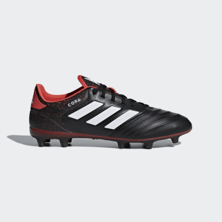 Copa 18.2 Firm Ground Cleats Core Black / Cloud White / Real Coral CP8953
