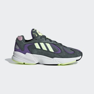Кроссовки Yung 1 legend ivy / hi-res yellow / active purple BD7655