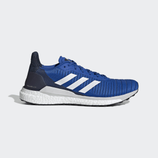 SolarGlide 19 Shoes Blue / Cloud White / Collegiate Navy F34099