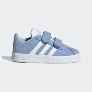 VL Court 2.0 Shoes Glow Blue / Cloud White / Grey Two EE6906