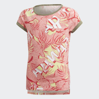 Camiseta The Pack White / Yellow Tint / Glory Pink / Core Pink FM1198