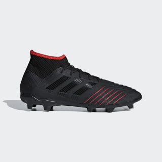 Predator 19.2 Firm Ground Boots Core Black / Core Black / Active Red D97939