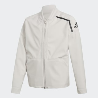 Giacca adidas Z.N.E. Reversible Bomber White/Storm Heather/Chalk Pearl/Chalk Pearl/Black CF6675